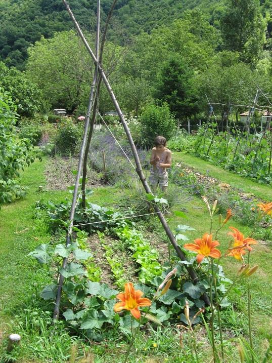 De tuin te bezoeken
